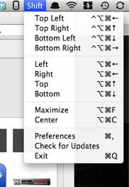Shiftit app for mac screenshot