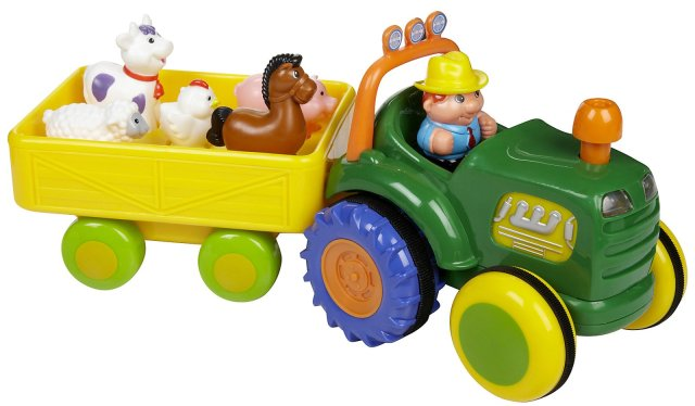 kidoozie fun time tractor